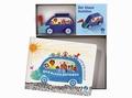 Der blaue Autobus (Bilderbuch + Holzspielzeug)