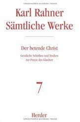 Sämtliche Werke: Rahner, Karl; 7