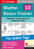 Mathe-Basics-Trainer, Für jeden Tag!: 10. Schuljahr