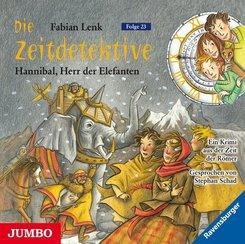 Die Zeitdetektive - Hannibal, Herr der Elefanten, 1 Audio-CD