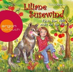 Liliane Susewind - Rückt dem Wolf nicht auf den Pelz!, 2 Audio-CDs