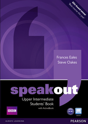 Speakout: Upper-Intermediate Students Book, w. DVD-ROM