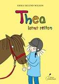 Thea lernt reiten