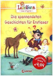 Die spannendsten Geschichten für Erstleser, 3 Bde.