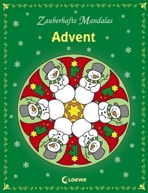 Zauberhafte Mandalas; Advent