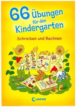 66 Übungen für den Kindergarten, Schreiben und Rechnen