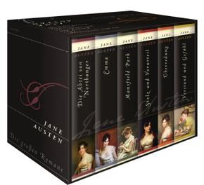 Jane Austen - Die großen Romane (6 Bücher)