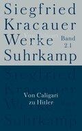 Werke: Von Caligari zu Hitler; Bd.2.1