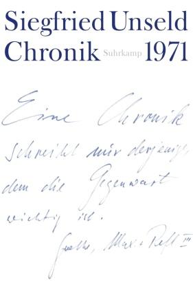 Chronik: 1971; Bd.2