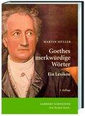 Goethes merkwürdige Wörter
