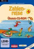 Zahlenreise, 4. Klasse / Mathematik, 1 Übungs-CD-ROM