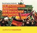 Die wichtigsten Ereignisse der deutschen Geschichte, 1 Audio-CD