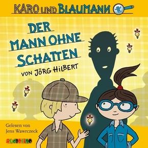 Karo und Blaumann - Der Mann ohne Schatten, 2 Audio-CDs