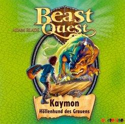 Beast Quest - Kaymon, Höllenhund des Grauens, 1 Audio-CD