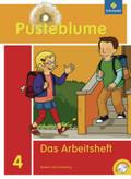 Pusteblume, Das Sprachbuch, Ausgabe 2010 Baden-Württemberg: 4. Schuljahr, Das Arbeitsheft m. CD-ROM
