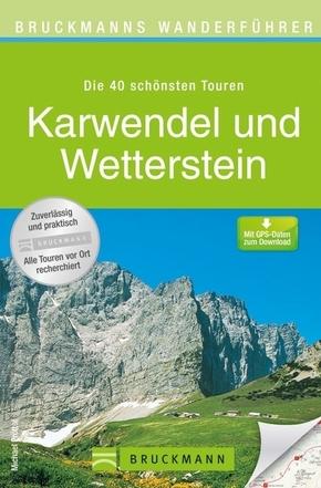 Bruckmanns Wanderführer Karwendel und Wetterstein