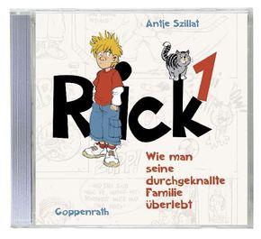 Rick - Wie man seine durchgeknallte Familie überlebt, 1 Audio-CD