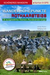 Wanderhöhepunkte links und rechts des Rothaarsteigs - Schöneres Wandern Pocket mit Detail-Karten, Profilen und GPS-Daten