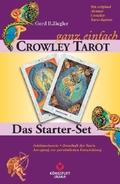 Crowley - ganz einfach, Tarotkarten u. Buch