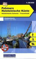 Kümmerly & Frey Outdoorkarte Fehmarn, Holsteinische Küste