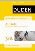 Einfach klasse in Deutsch - Aufsatz 7./8. Klasse