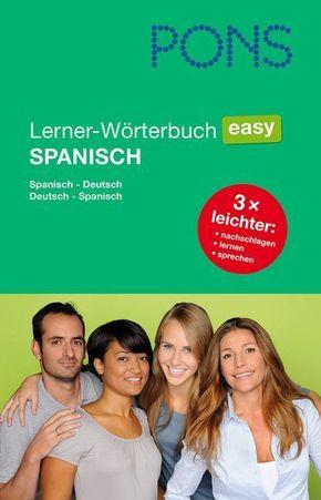 PONS Lerner-Wörterbuch easy Spanisch
