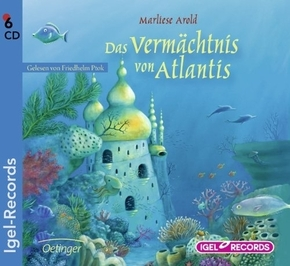 Das Vermächtnis von Atlantis, 6 Audio-CDs