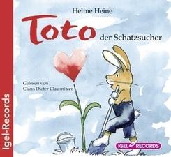 Toto der Schatzsucher, Audio-CD
