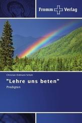 """Lehre uns beten"""