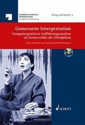 Gemessene Interpretation, m. CD-ROM