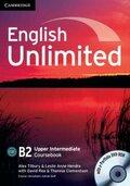 English Unlimited B2: Coursebook, w. e-portfolio DVD-ROM and 3 Audio-CDs