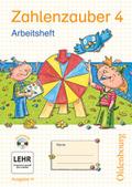 Zahlenzauber, Ausgabe H: 4. Schuljahr, Arbeitsheft m. CD-ROM