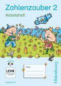 Zahlenzauber, Ausgabe H: 2. Schuljahr, Arbeitsheft m. CD-ROM (mit Lösungsheft)