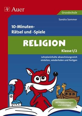 10 Minuten Rätsel und Spiele Religion Kl. 1/2