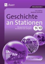 Geschichte an Stationen, Klassen 9/10