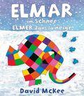 Elmar im Schnee, Deutsch-Französisch - Elmer dans la neige