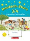 Deutsch-Stars: Deutsch-Stars - Allgemeine Ausgabe - 3./4. Schuljahr
