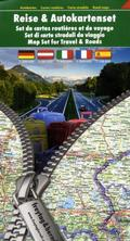 Freytag & Berndt Autokarte Deutschland - Österreich - Italien - Frankreich - Spanien, Reise & Autokartenset