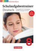Deutschbuch, Realschule Bayern: 8. Jahrgangsstufe, Schulaufgabentrainer