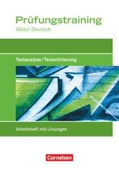 Prüfungstraining Abitur Deutsch: Prüfungstraining Abitur - Deutsch