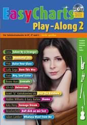 Easy Charts Play-Along, für Bb/Eb/C-Instrument, m. Audio-CD - Bd.2