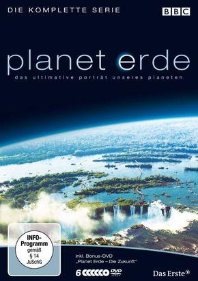 Planet Erde - Die komplette Serie (Softbox-Version), 6 DVDs