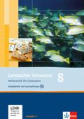 Lambacher-Schweizer, Ausgabe A, Neubearbeitung: 8. Schuljahr, Arbeitsheft plus Lösungsheft m. CD-ROM