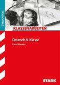 Klassenarbeiten Deutsch 8. Klasse, Gymnasium (G8)