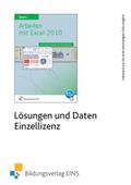 Arbeiten mit Excel 2010, 1 CD-ROM