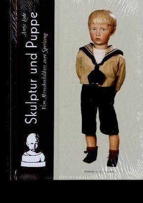 Skulptur und Puppe