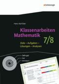 Klassenarbeiten Mathematik: 7./8. Schuljahr