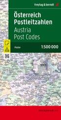Freytag & Berndt Poster Österreich, Postleitzahlen