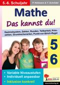 Mathe - Das kannst du! - 5./6. Schuljahr