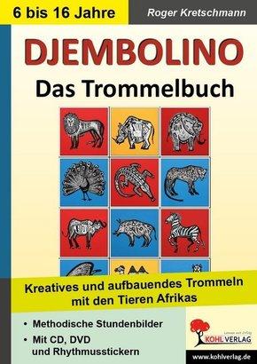 DJEMBOLINO - Das Trommelbuch, m. Spielbuch u. Audio-CD